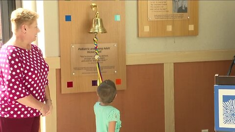 New 'Victory Bell' installed for pediatric and young adult cancer patients