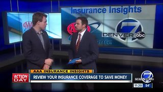 AAA-Review Your Insurance Coverage to Save Money