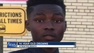 Family mourns 14-year-old drowning victim