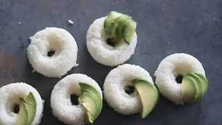Easy to Make Sushi Donuts - Video