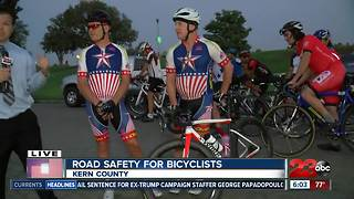 Bicyclists looking for safer roads in Kern County - Video