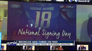 Boise State inks 23 on National Signing Day - Video