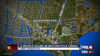 2 People Killed in Motorcycle Crash