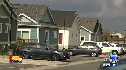 Build-for-rent community in Commerce City