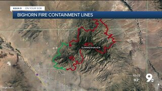 How fire crews define 'containment'