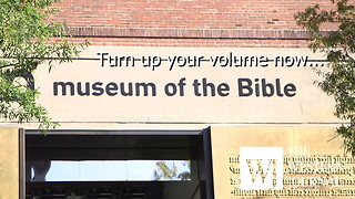 New 'Museum of the Bible' Open to the Public in Washington DC - Video
