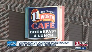 Omaha mayor launches investigation into 11-Worth Cafe protests