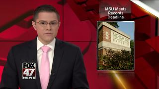 MSU extension to comply with House inquiry - Video
