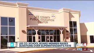 School board member says problems within board