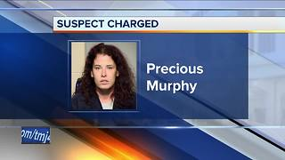 Milwaukee woman who stole tow truck, injured officer charged - Video