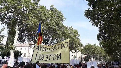 Protesters Hit Out at Spanish King as Barcelona Marks First Anniversary of Attacks