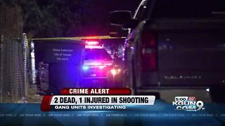 2 dead, 1 injured on Tucson's south side