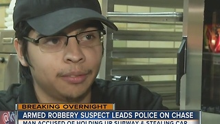 Subway robbery victim speaks