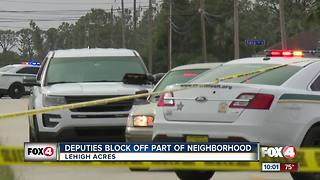 Deputies investigate incident in Lehigh Acres - Video