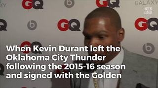 Kevin Durant Will Reportedly Opt Out Of Contract With Warriors - Video