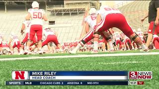 Husker Practice Report - Video