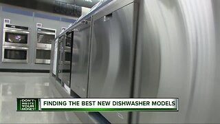 Finding the best new dishwasher models