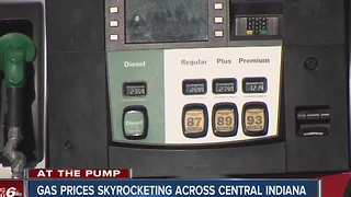 Gas prices skyrocket ahead of holiday weekend - Video