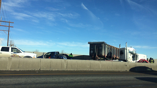 Jackknifed semi closes westbound I-70 for hours
