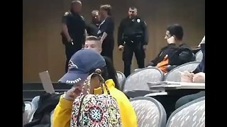 College Professor Calls Cops on Student Who Put Her Feet Up in Class