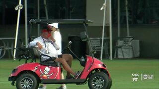 Bucs Training Camp: Head coach Bruce Arians impressed with Day 1