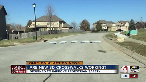 Has 3D crosswalk in KCK made a difference? We follow up