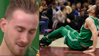 Gordon Hayward BREAKS DOWN into Tears Talking About Leg Injury - Video