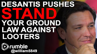DeSantis Pushes to EXPAND Stand Your Ground Law