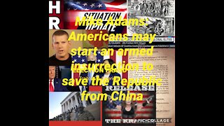 Mike Adams Election Report: Americans may resort to an armed insurrection