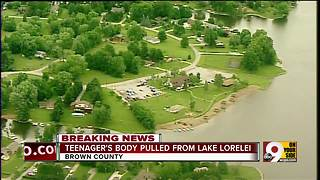 Teenager's body pulled from Lake Lorelei - Video