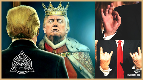 Top 5 'Hand Signs' President Trump Is Member of the Illuminati