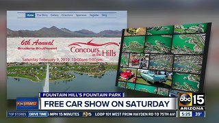 Free car show in Saturday in Fountain Hills