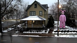 There's something different about the Christmas Story House - Video