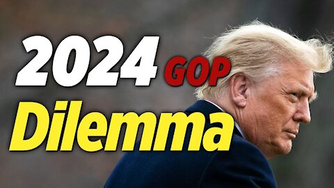 GOP Candidates' Biggest Dilemma in 2024: Support While Competing with Trump
