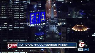 National FFA Convention takes over downtown Indianapolis - Video