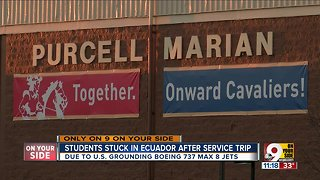 Grounded 737 flights affect high schoolers abroad