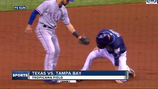 Tampa Bay Rays beat Texas Rangers 8-4 to end 4-game losing streak - Video