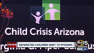 Very young children found crossing border sent to Phoenix shelter