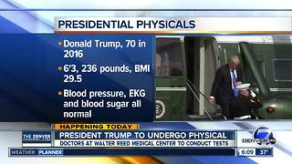President Trump undergoes first physical - Video