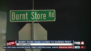 Burnt Store Road closed due to flooding - Video