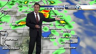 Saturday evening weathercast 6pm - Video