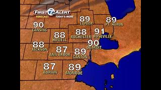 Heat wave has arrived! - Video