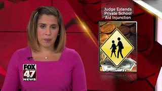 Judge again stops $2.5 million to Michigan private schools - Video