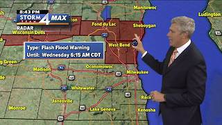 Flash Flood Warnings still in effect