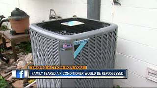 Family nearly loses AC unit after already being approved for financing | WFTS Investigative Report - Video