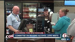 Indiana committee on revising alcohol laws meets - Video