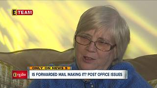 Is forwarded mail making it? People are having issues, post office responds - Video