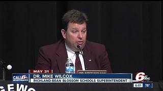 Richland-Bean Blossom superintendent steps down after CALL 6 exposes $1M mistake