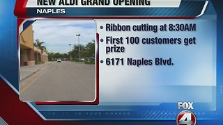 Aldi comes to Naples, Florida - Video