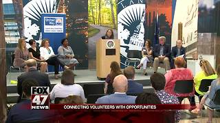 Serve Lansing program connects volunteers with opportunities - Video